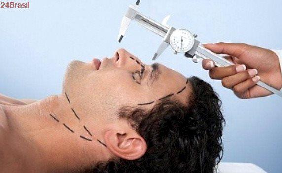 Aumenta número de homens a procura de cirurgia plástica