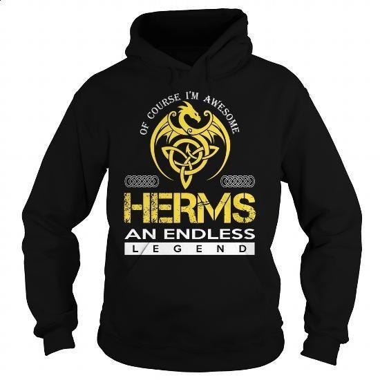 HERMS An Endless Legend (Dragon) - Last Name, Surname T-Shirt - #money gift #gift amor