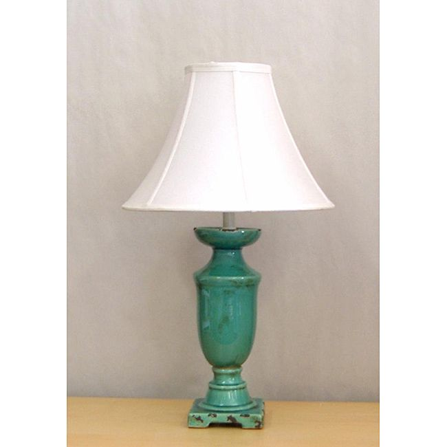Perfect For The Bedroom Living Room Or Den This Beautifully Designed Distressed Turquoise
