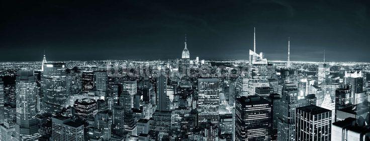New York Manhattan Skyline wall mural