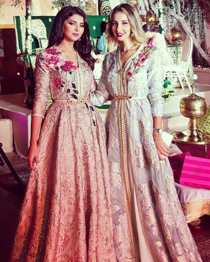 Traditional style - Moroccan Caftan - Pastel - Classy