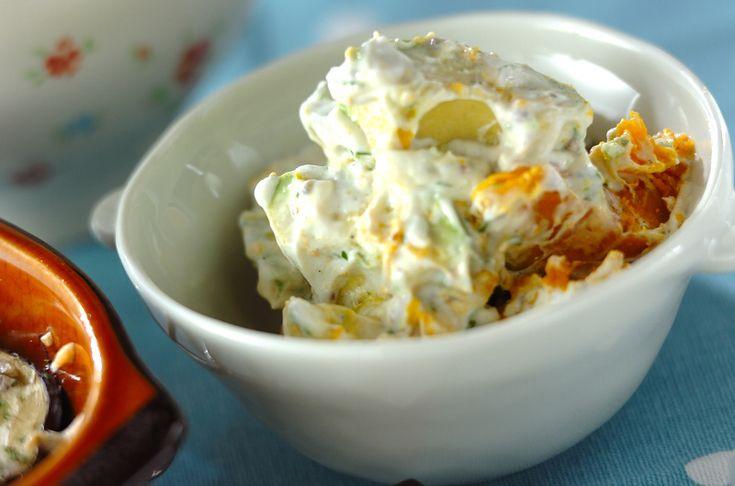 アボカドとカボチャのヨーグルトサラダ【E・レシピ】料理のプロが作る簡単レシピ/2011.06.20公開のレシピです。