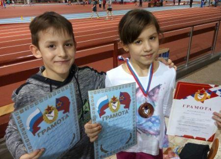 Юные спортсмены Вихор Евгения и Павел снова с призами - Сайт города Домодедово