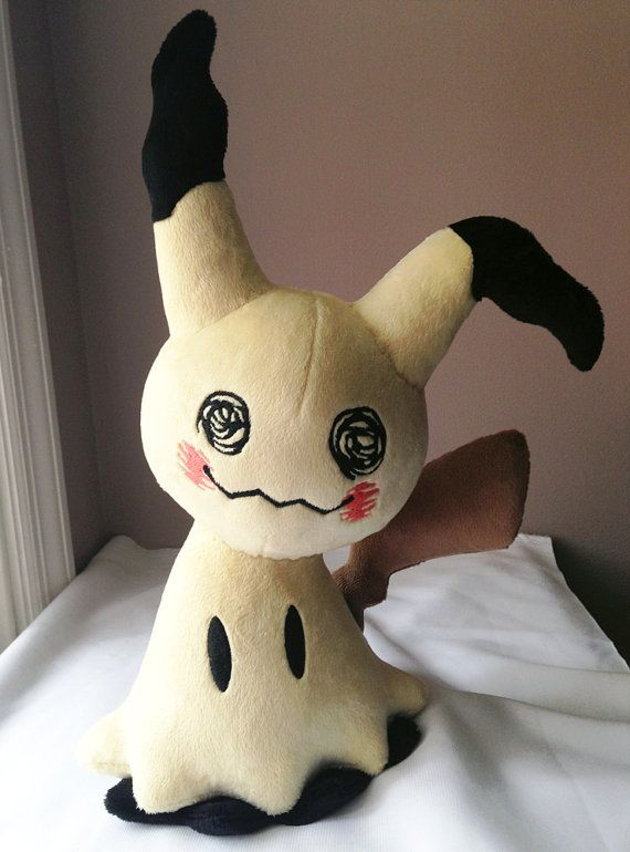 Peluche de Pokemon hecho a mano Mimikkyu Mimikyu * hecha a la orden