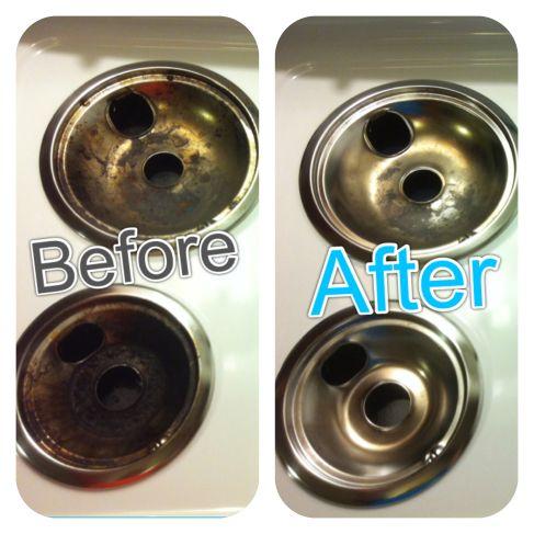 How to clean burner rings