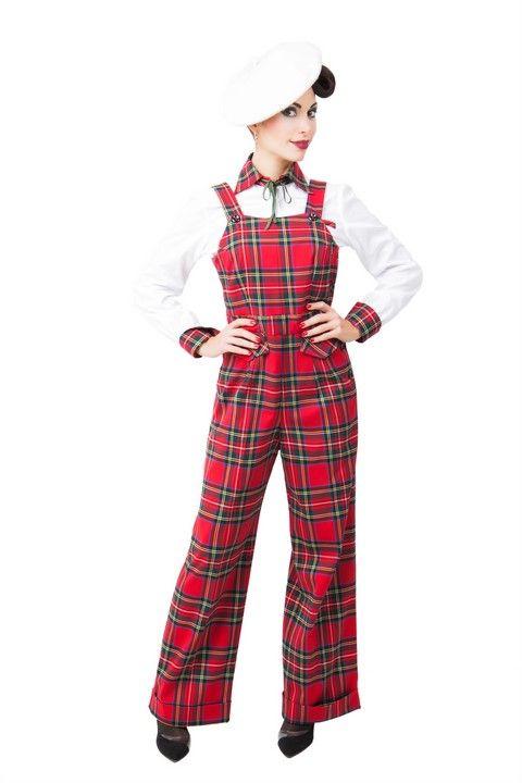 Mono BUDDY DICKEY Mono corte vintage, pantalón recto con dobladillo en el bajo. Tejido clásico estampado escoces. Botones negros. #Presumidas #AndreaPalau #soypresumida #PresumidasElegance #moda #moda50s #años50 #1950sfashion #ropavintage #m#pinup #pinupgirl #fiftties #fifttiesstyle #fifttiesgirl #cool #estampadosvintage odavintage #vintagestyle#vintageoutfits #vintagetrends