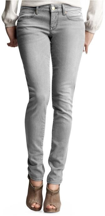 perfect gray jeans