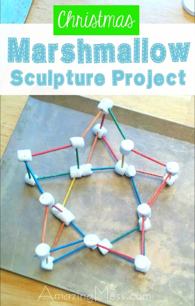 This is one of the easiest (and best) open-ended activities for kids. Your budding engineer will love figuring out what they can make from marshmallows and toothpicks!