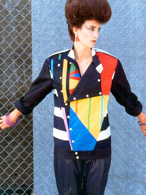 Memphis movement fashion. Xk #kellywearstler