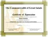 Honor Roll Certificate Printable Certificate