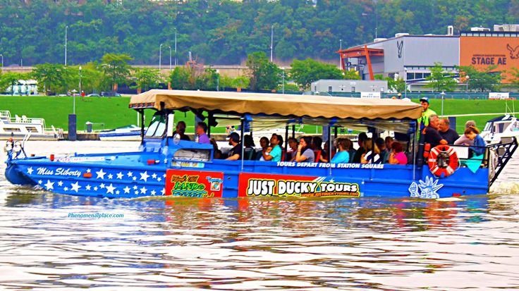 Just Ducky Tours - The Fun Way To Learn About Pittsburgh ~ Places on the planet you must see