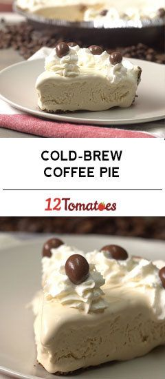 Cold-Brew Coffee Pie
