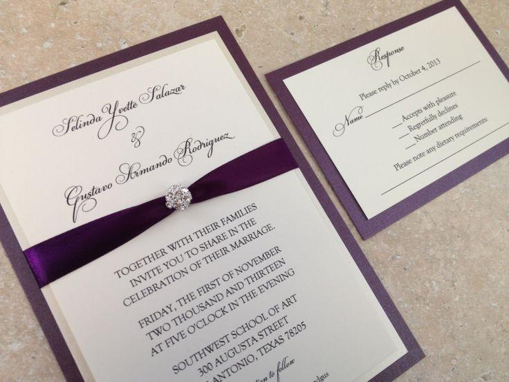 Bling Wedding Invitations Online