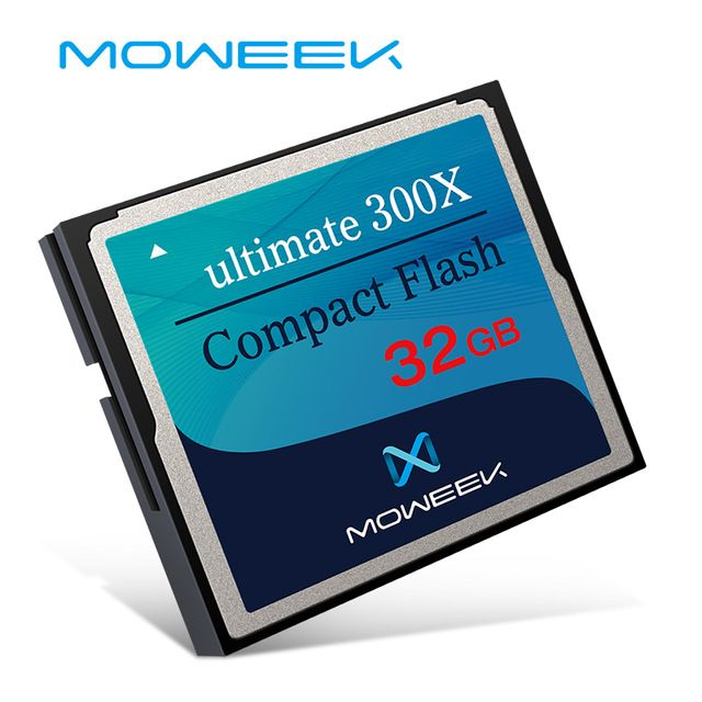 Moweek Extreme Cf Card 16gb 32gb 64gb High Speed Professional Memory Card 300x Compact Flash Card For Camera Review Compact Flash Camera Reviews Memory Card