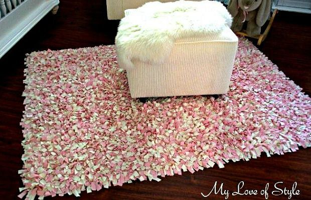 Use a Rug Pad to Make a Shaggy Statement