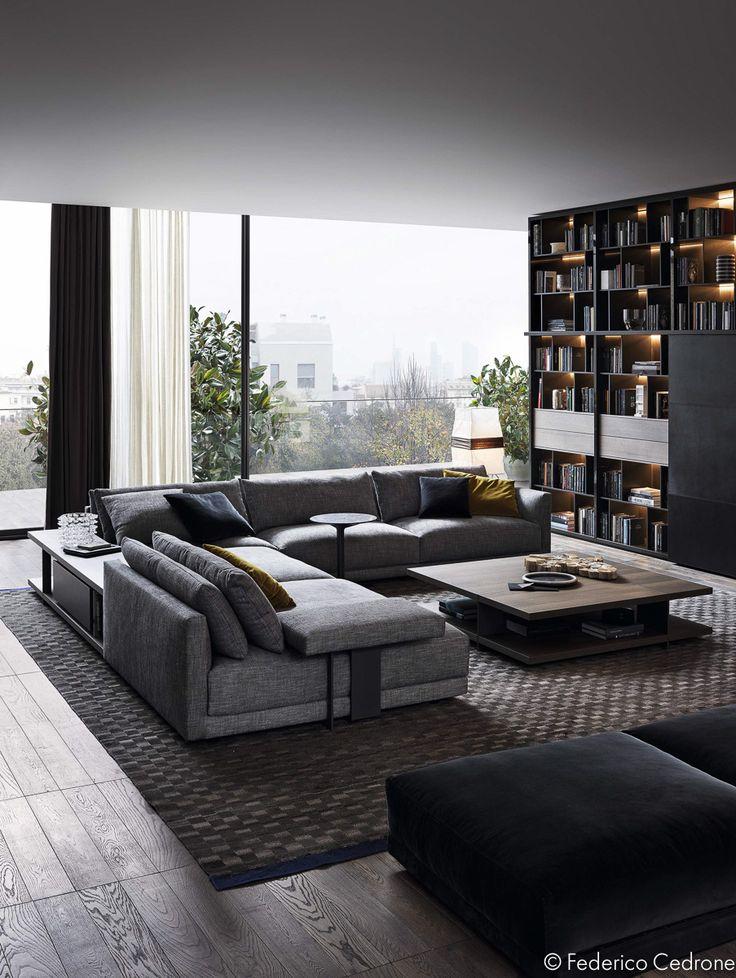 28 besten moderne wohnzimmer bilder auf pinterest wohnr ume wohnzimmer ideen und wohnideen. Black Bedroom Furniture Sets. Home Design Ideas