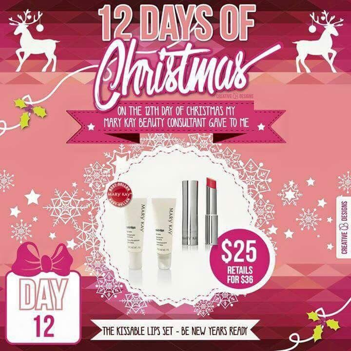 Gift Ideas For The 12 Days Of Christmas: 17 Best Images About MARY KAY On Pinterest