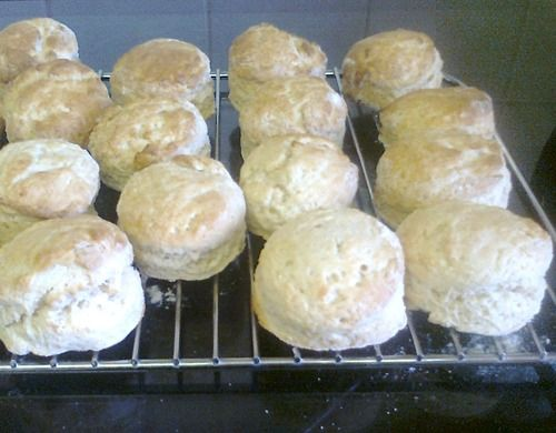 This is my recipe for delicious, gluten free scones. My husband says he prefers these to 'normal' ones and they rise really well, are crispy and light and taste amazing with homemade strawberry jam!