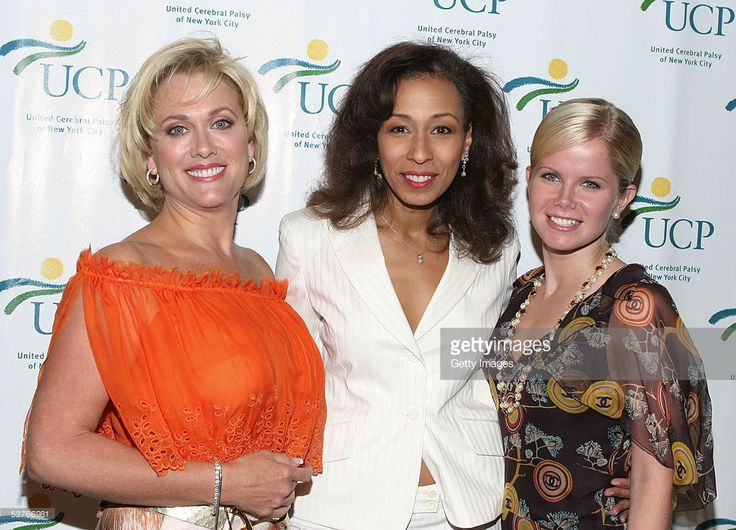 Actresses Tonja Walker, Tamara Tunie, and Crystal Hunt attend the Cerebral Palsy Fourth Annual Women Who Care Luncheon at Cipriani on May 5, 2005 in New York City.