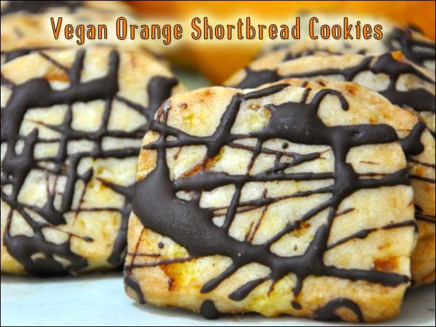 Vegan Baking - Cookies - Shortbread on Pinterest | Shortbread cookies ...