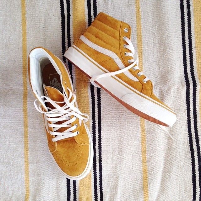 7cbc57d321dc07 mustard yellow vans sk8 low