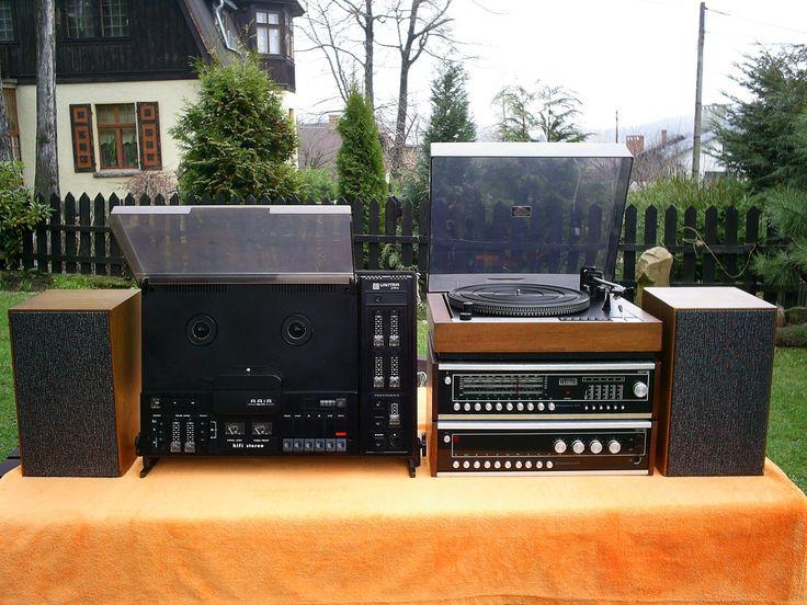 UNITRA Diora - polskie stereo Hi-Fi z PRL