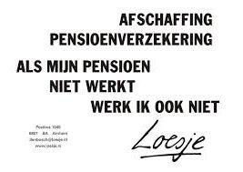 Loesje - Pensioen afschaffen