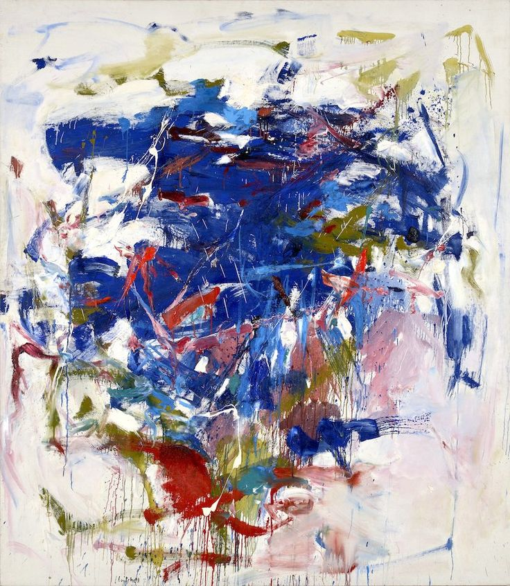 Master of Abstract Expressionism Joan Mitchell
