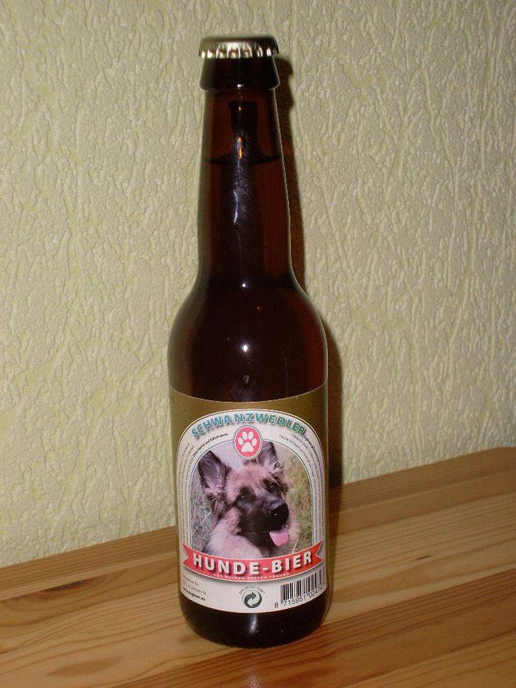SCHWANZWEDLER ~ HUNDE BIER ~ Sammlerflasche  | eBay