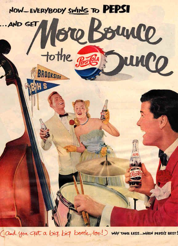 Retro Pepsi adverts