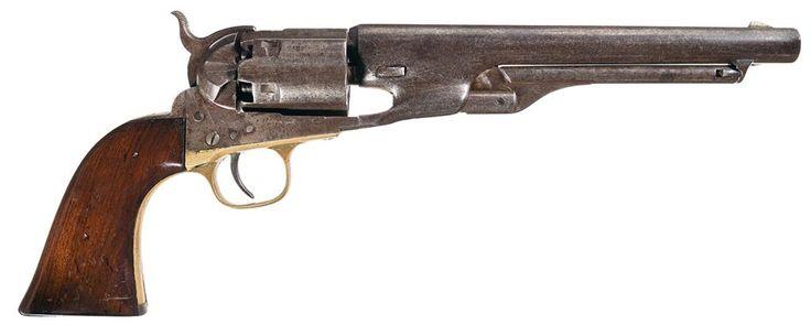 Confederate General William Thompson Martin's Colt Army Model 1860 Percussion Revolver