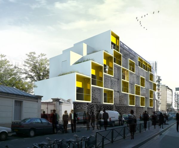 17 ideas about logement on pinterest logement social 1 logement and architectes. Black Bedroom Furniture Sets. Home Design Ideas