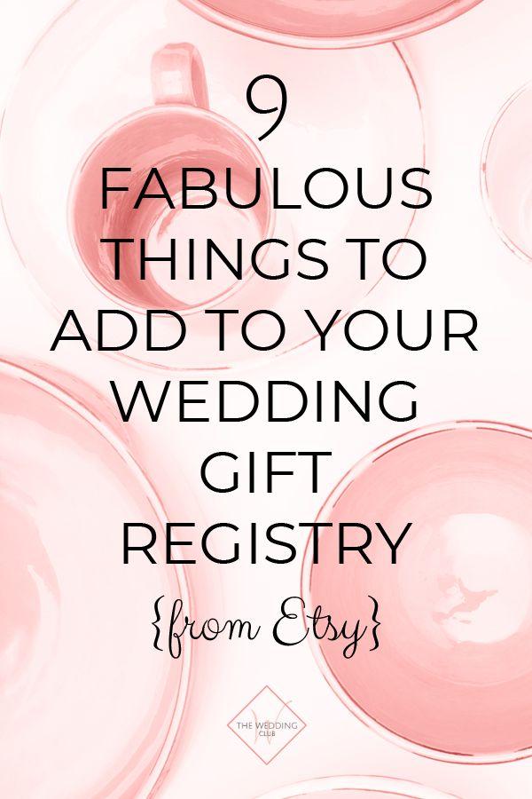 9 Fabelhafte Dinge, die Sie Ihrer Hochzeitsgeschenkliste von Etsy hinzufügen können   – wedding gift ideas, couple gifts & bridal gifts