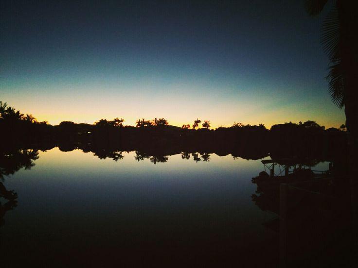 Sunrise at the Elliot's, Noosa QLD.