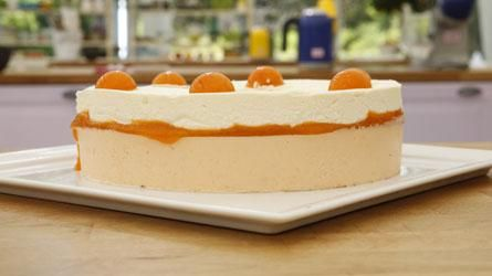 Bavarois abricot passion pistache