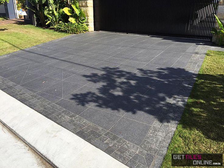 Dark Raven Pearl Flammed 306x312 Matt (Code:00493) - Get Tiles Online