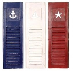 Nautical Decor--would make a cute headboard