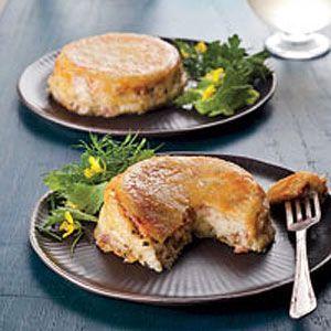 White Lasagna Cupcakes Recipe : Cooking.com Recipes