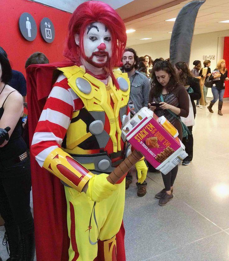Thor x Ronald McDonald