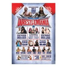 WrestleMania 32 24 x 36 Poster