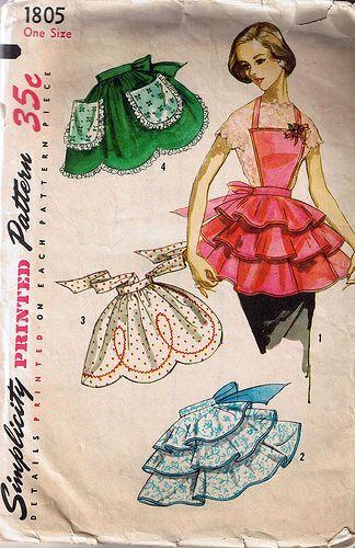 Vintage Aprons....so cute
