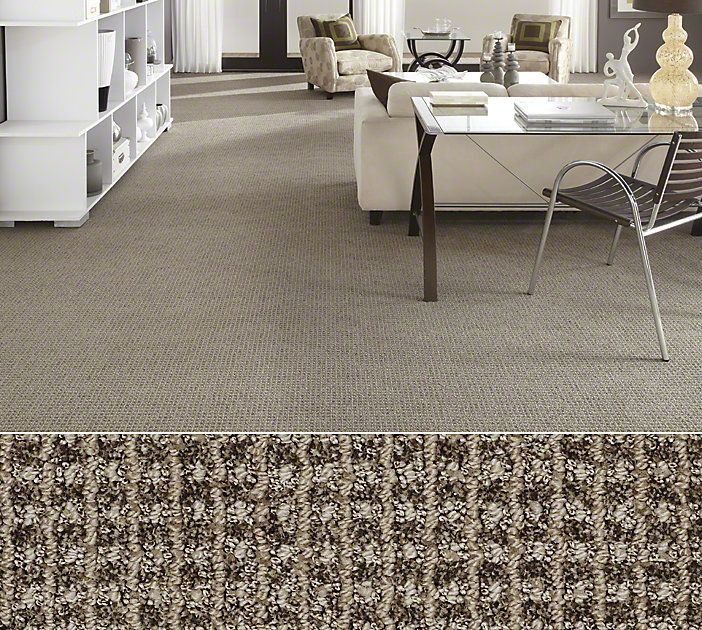 Get The Look Of Sisal In This Stainmaster Nylon By Shaw Style Sheer Delight Color Storm Cloud Floors Carpet Flooring