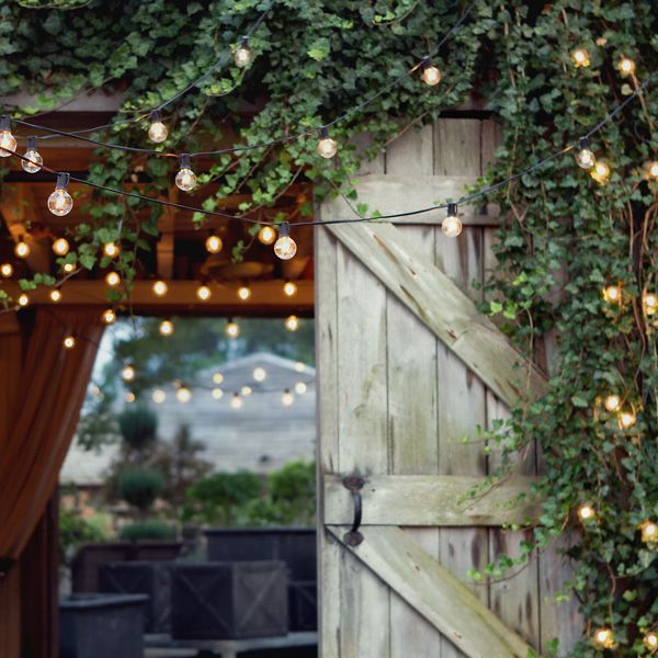 pottery barn outdoor lighting. 10 simple ways to add charm a backyard pottery barn outdoor lighting
