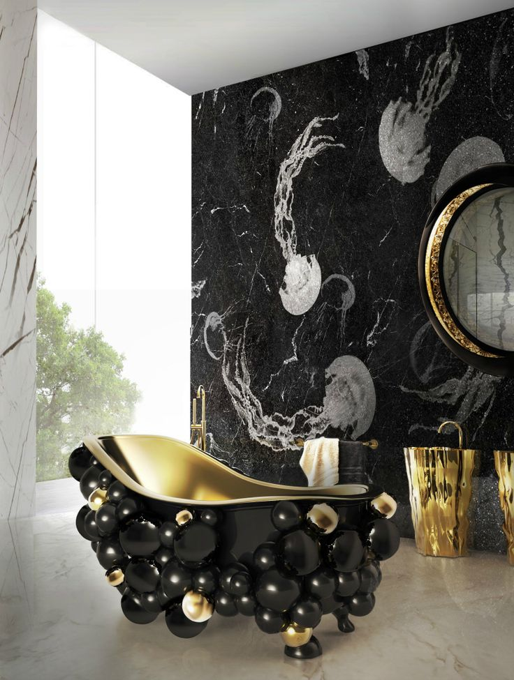 10 LUXURIOUS BATHROOM IDEAS THAT WILL NEVER GO OUT OF STYLE | luxurious bathroom ideas, bathroom decor ideas, bathroom design #luxuriousbathroomideas #bathroomdecorideas #bathroomdesign Discover more: https://brabbu.com/blog/2017/08/luxurious-bathroom-ideas-style/