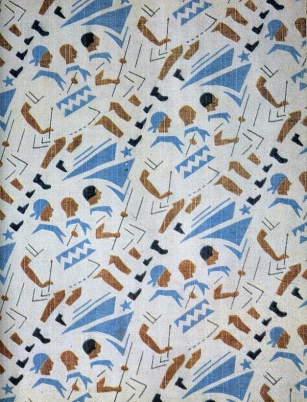 USSR. Soviet Fabrics, 1920s-1930s