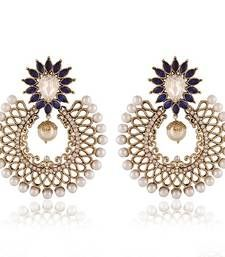 Buy Gleaming Gold Plated Jewellery Earrings For Women danglers-drop online