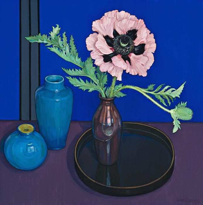 Criss Canning - Still-Life with Poppy Cedric Morris