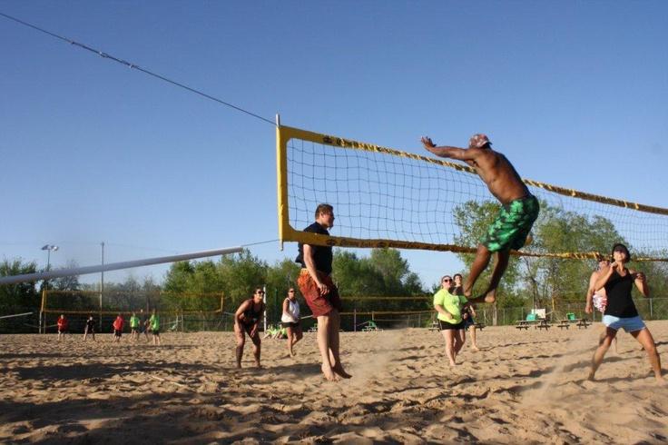 Volleyball Beach Kansas City Beach Volleyball Beach