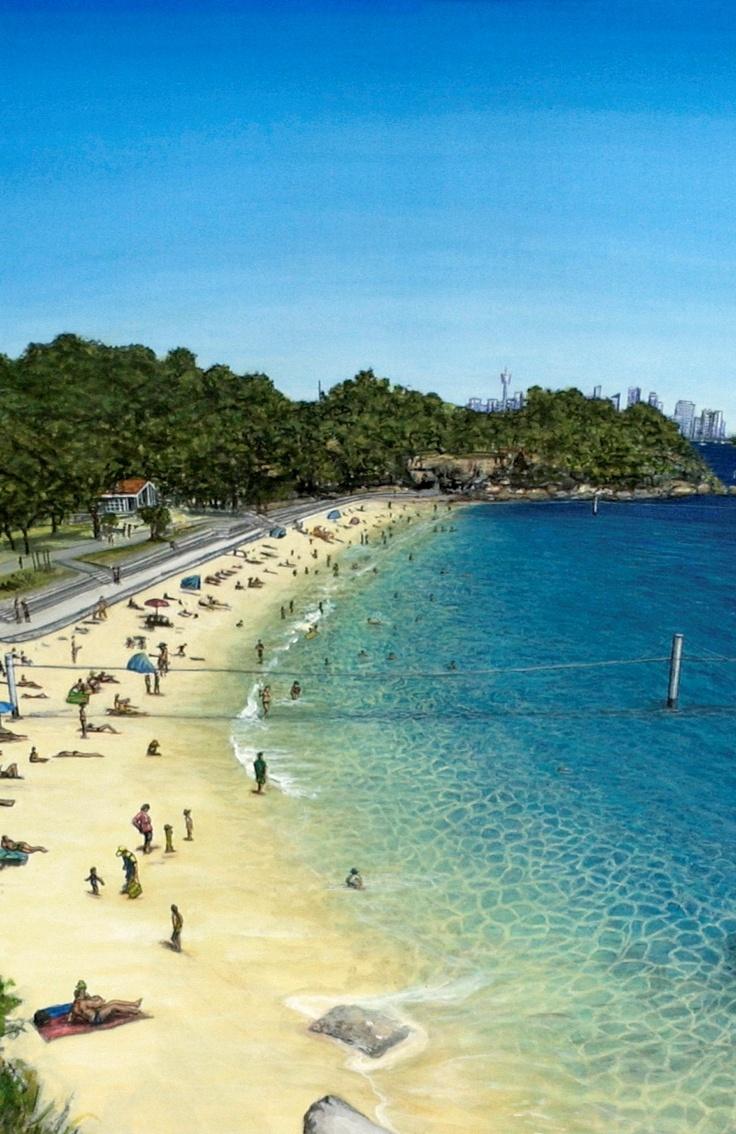 Nielsen Park Beach, Sydney, NSW, Australia