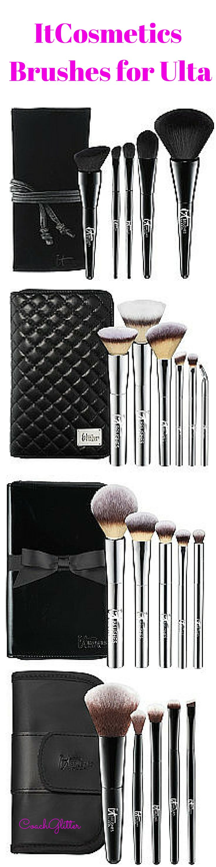 The Ulta-Mate guide to @itcosmetics makeup brush sets exclusively for Ulta Beauty!